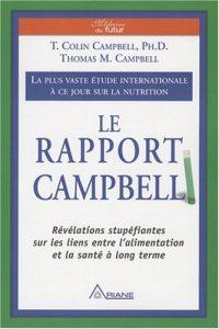 Livre sur l'alimentation : le rapport Campbell